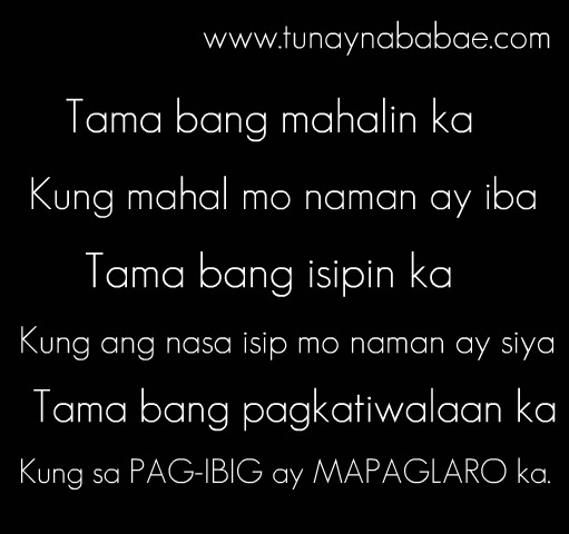 Sad Quotes About Love Tagalog Version : Sad Tagalog Quotes. QuotesGram