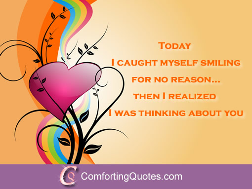 Thinking Of You Today Quotes. QuotesGram