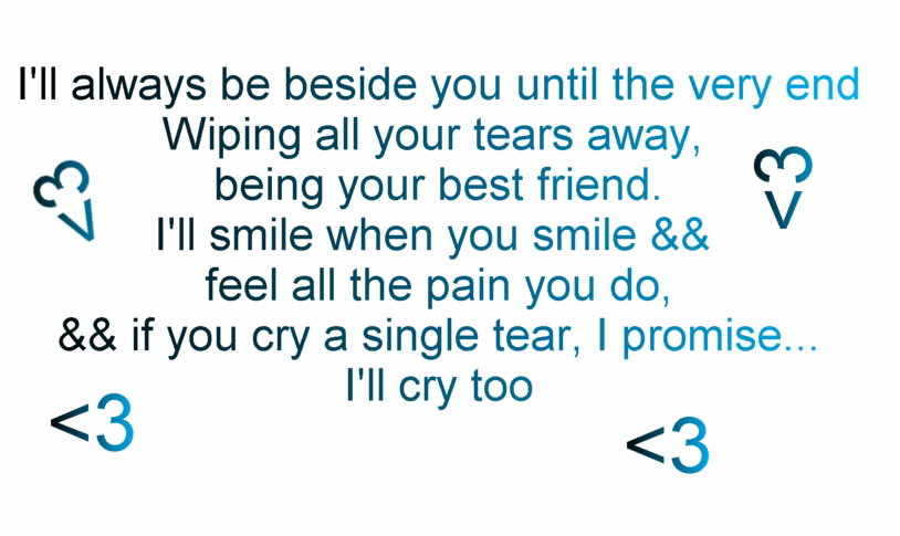 Letter To Best Friend That Will Make You Cry