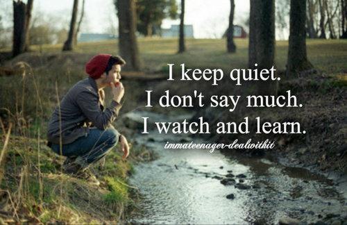 Famous Quotes About Quiet People. QuotesGram