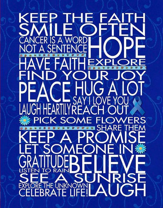 Colon Cancer Quotes Inspirational Quotesgram