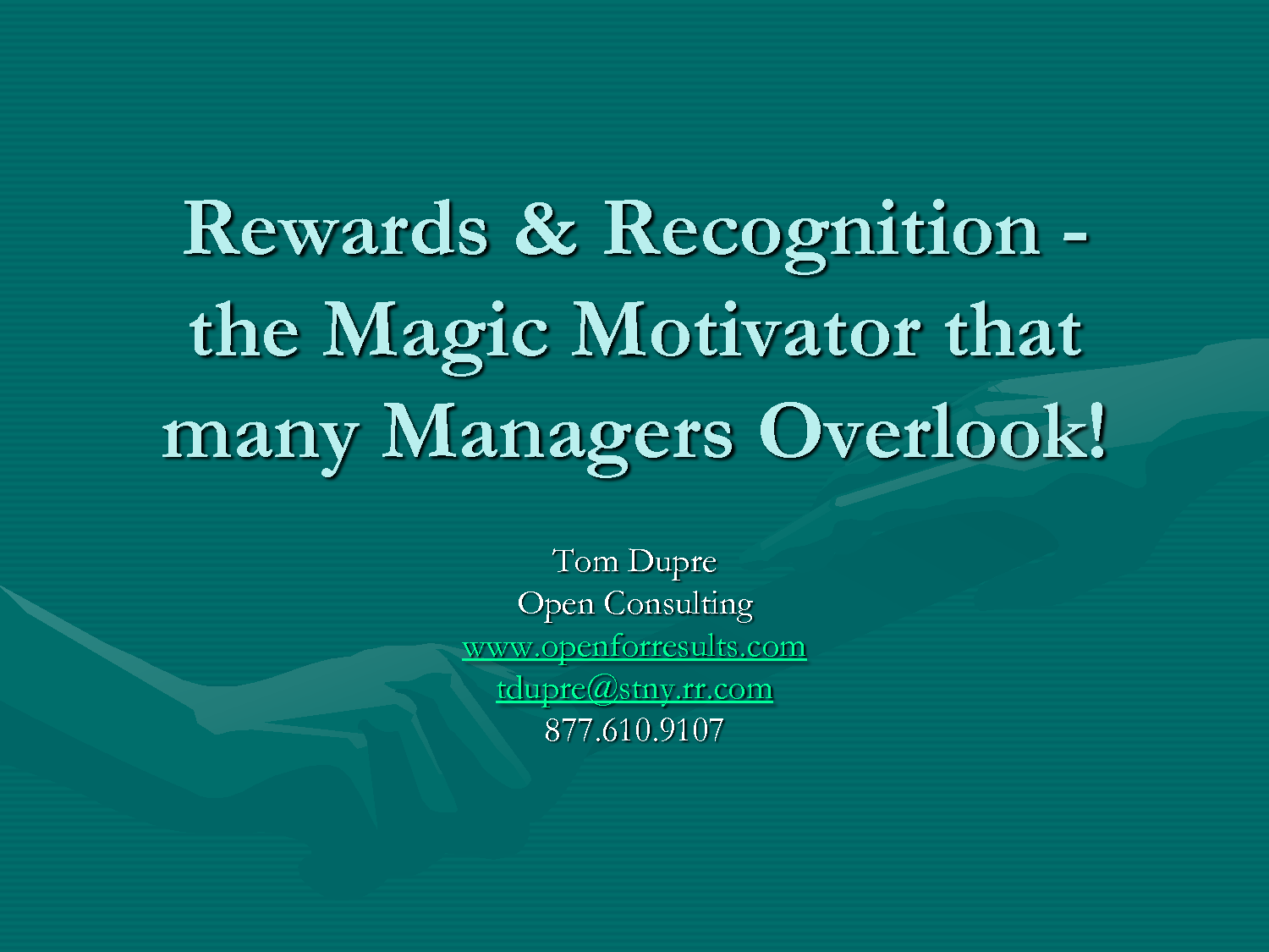 reward and recognition A reward is defined as something which praise and public recognition performance, reward and recognition 3.