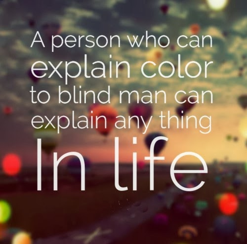 Blind Quotes: Blind Quotes Inspirational. QuotesGram