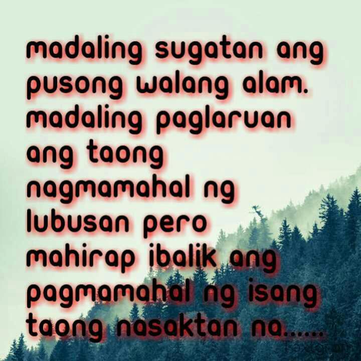 sad tagalog quotes quotesgram