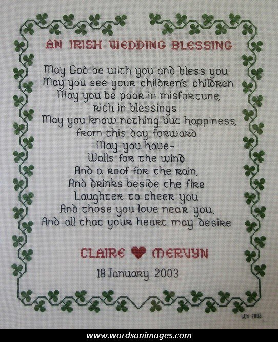 Irish Wedding Quotes: Irish Marriage Quotes. QuotesGram
