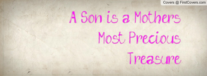 Mom And Son Quotes Pictures: Mother Son Quotes For Facebook. QuotesGram