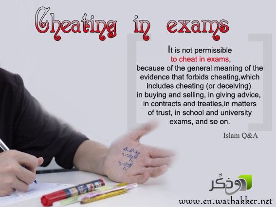 cheating on an essay test Cheating, misconduct, deception and other forms of unethical behavior are widespread today, not just in business but in sports or cheating on an exam.