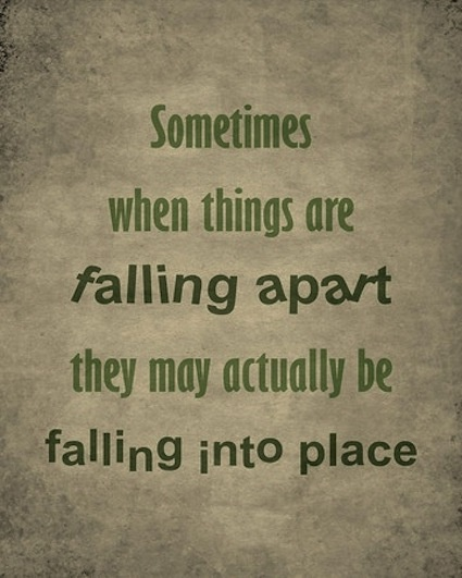 Everything Falls Apart: Quotes Cute Everything Falls Apart. QuotesGram