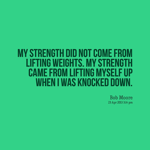 Strength Within Quotes  Quotesgram