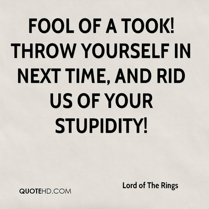 Rings With Quotes On Them Quotesgram: Lord Of The Rings Funny Quotes. QuotesGram