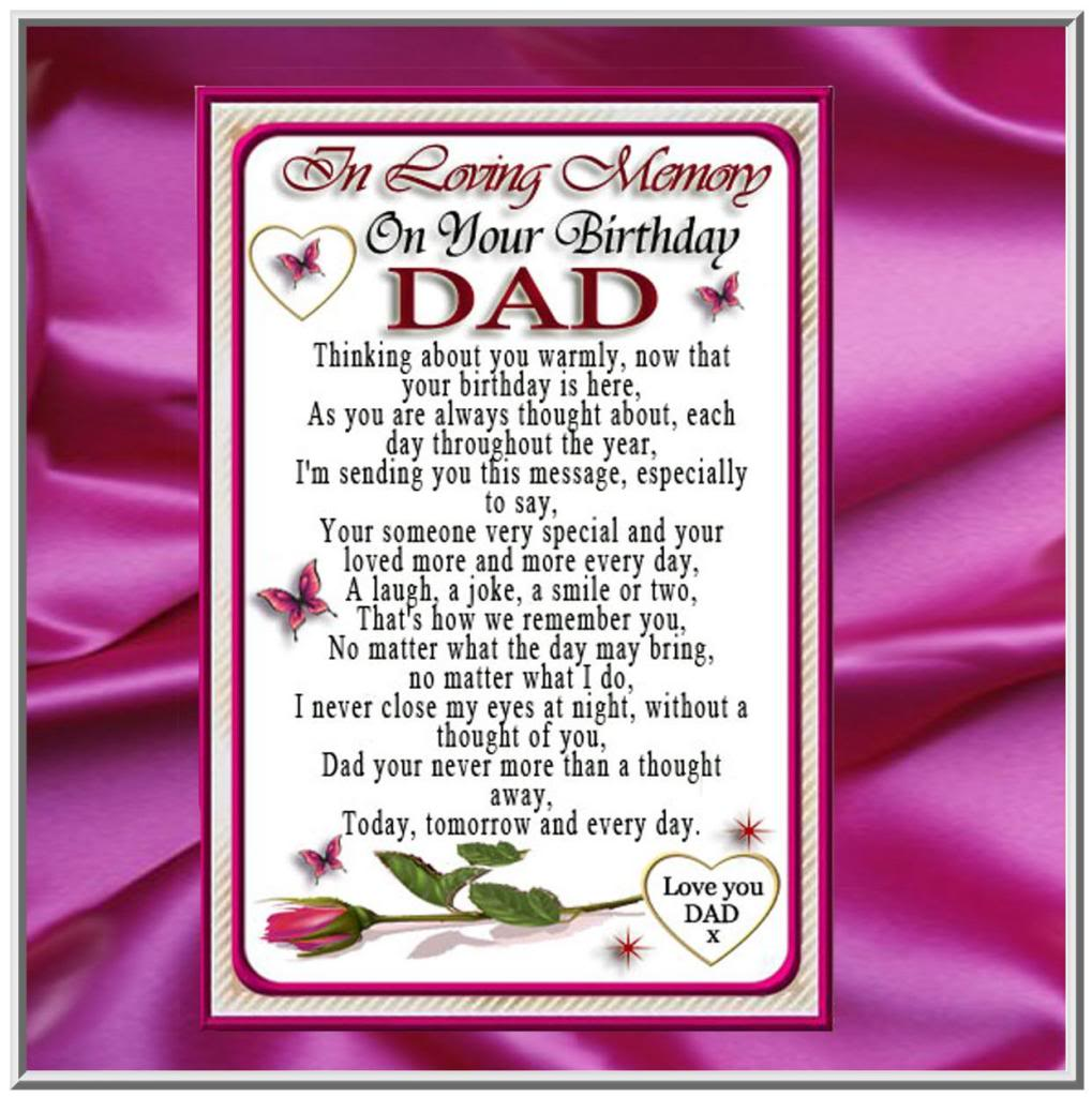 Deceased Father Birthday Quotes. QuotesGram