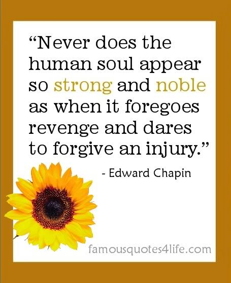 Inspirational Quotes After Injury: Quotes About Revenge And Forgiveness. QuotesGram
