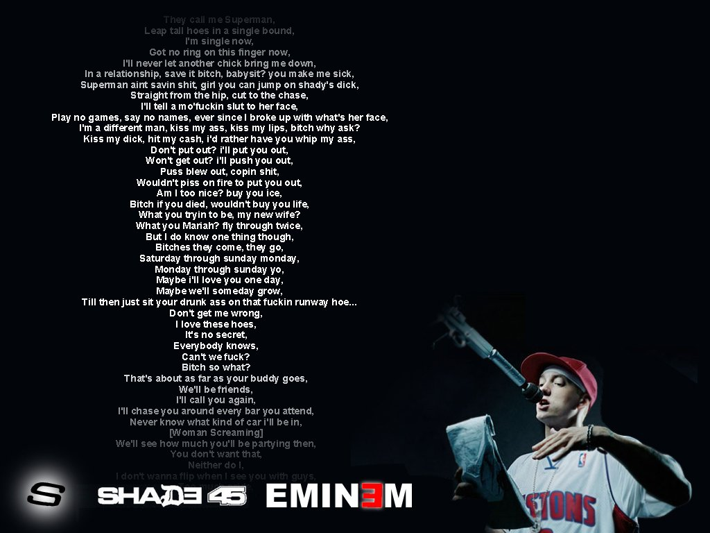 eminem quotes from songs recovery - photo #9