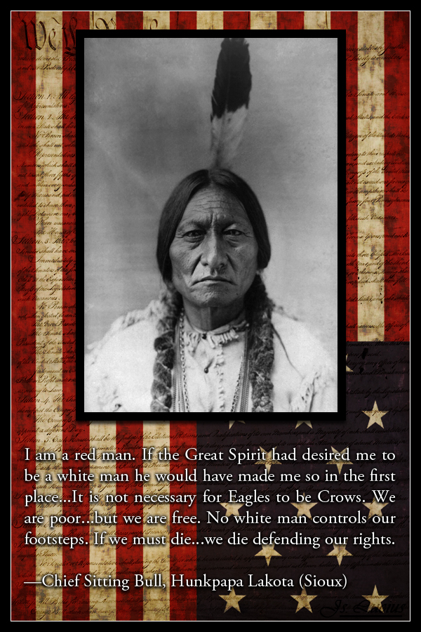 quotes from chief sitting bull  quotesgram