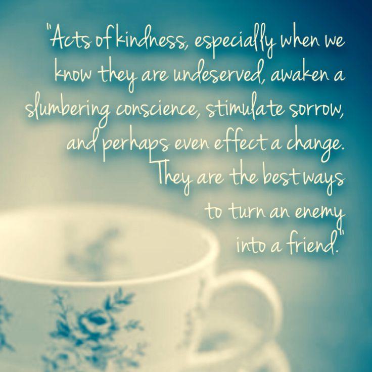 Acts Of Kindness Quotes: Acts Of Kindness Quotes. QuotesGram