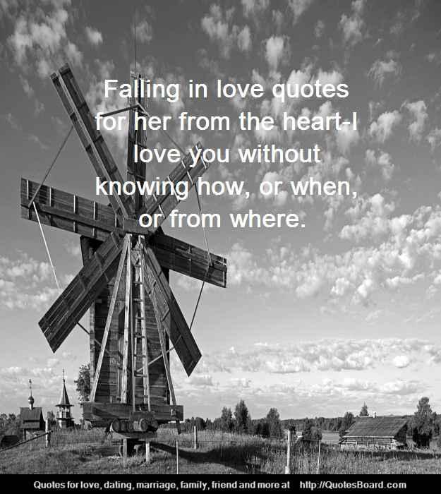 Falling In Love Quotes: Falling In Love Quotes For Her. QuotesGram