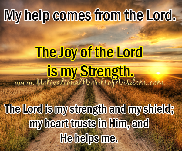 Strength Shield Psalms Bible Quotes QuotesGram