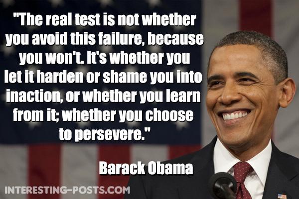 Barack Obama Quotes On Success Quotesgram