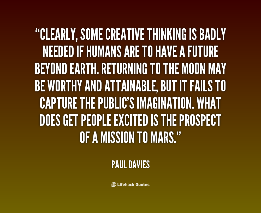 Quotes About Creative Thinking Quotesgram
