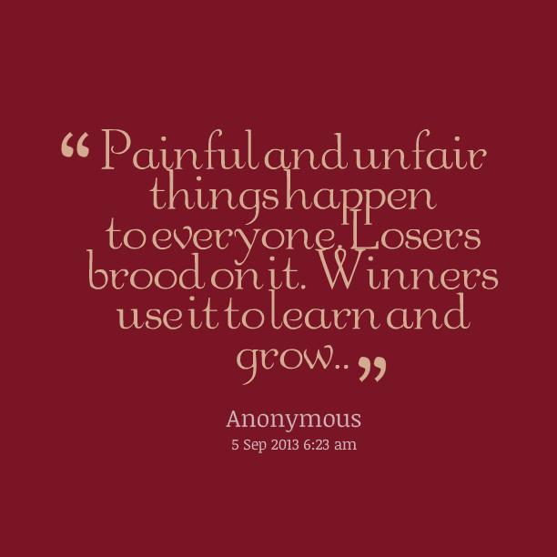 Unfair Quotes Quotations. QuotesGram