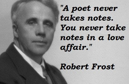 """waiting by robert frost Shortly before the death of robert frost, the editor of a selection of critical essays on the poet summarized the case for his prosecution as politically retrograde: """"when, during the thirties, poetry discovered a whole new reality in the political liberalism of the time, frost became even more removed from the intellectual center of things."""