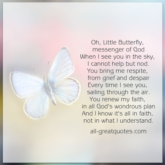 Grief Quotes With Butterflies Quotesgram