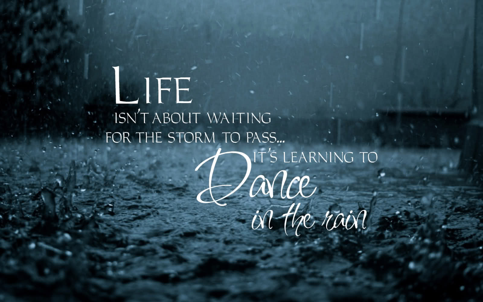 Inspirational Quotes On Rain Quotesgram