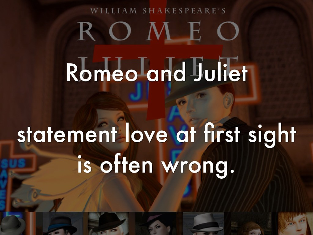 rushed love romeo and juliet However, if you compare this to romeo's love for juliet, although it may have been rushed and hasty, initially based on looks and beauty, it is definitely not an infatuation.