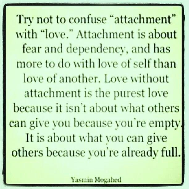 how to get rid of emotional attachment to someone
