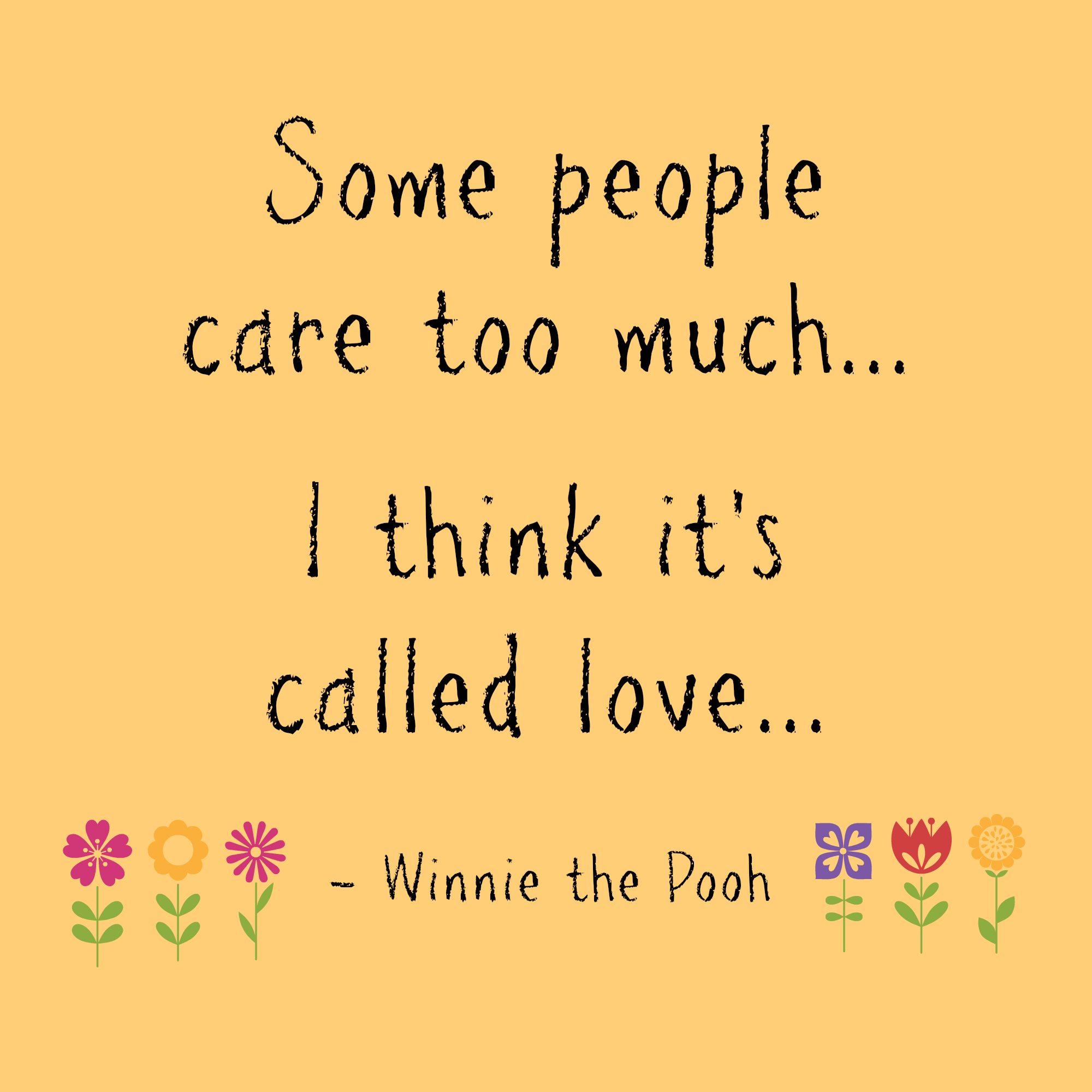 Quotes About Love: Winnie The Pooh Quotes About Love. QuotesGram