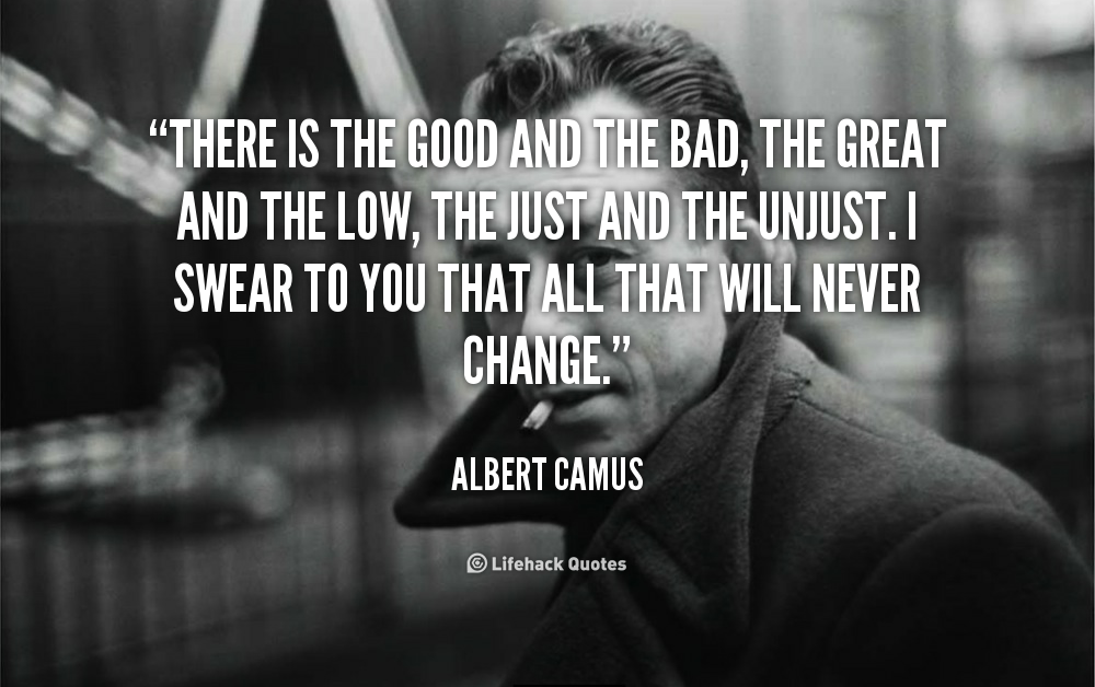 the stranger by camus Born in french algeria in 1913 to a poor family, camus' father died in world war  1 the next year camus grew up in a two-bedroom apartment shared among.