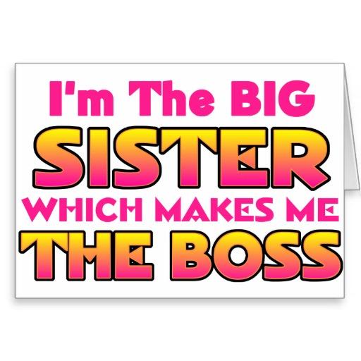Big sisters funny