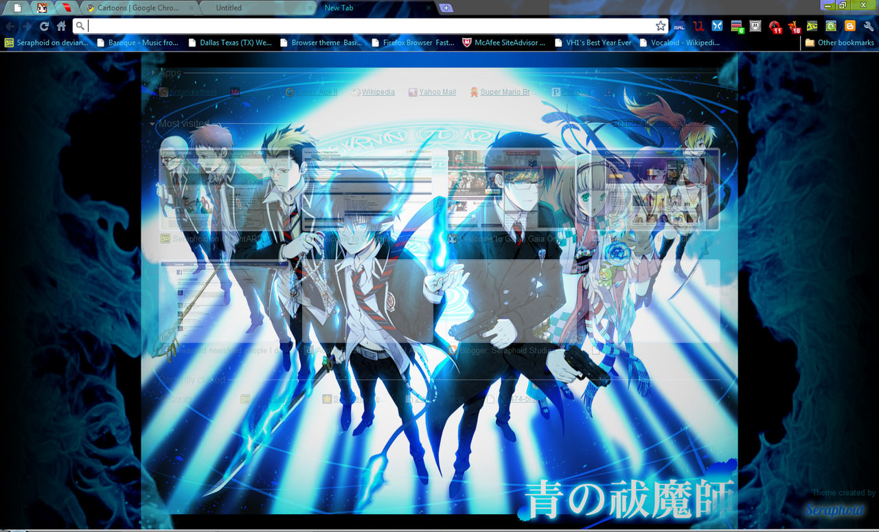Google chrome themes quotes - Blue Exorcist Quotes