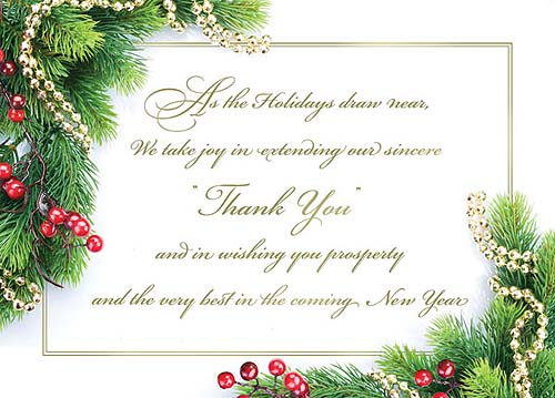 Christmas Quotes For Business And Clients: Holiday Thank You Quotes For Employees. QuotesGram