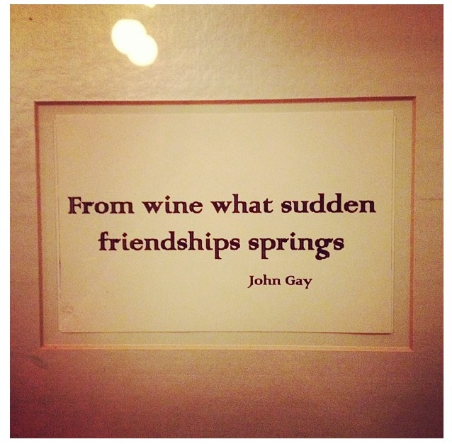 Friendship And Wine Sayings : Wine and friendship quotes quotesgram