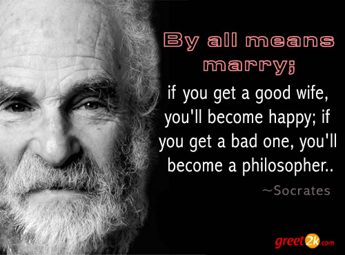 Socrates Quotes On Marriage: Bad Marriage Quotes Sayings. QuotesGram
