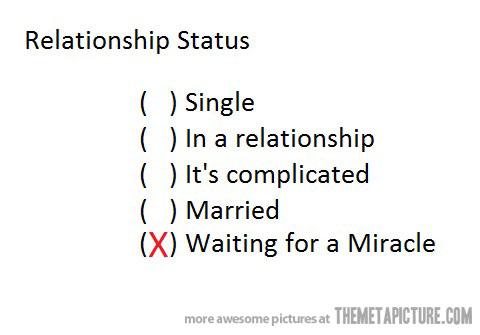 civil union facebook relationship status funny