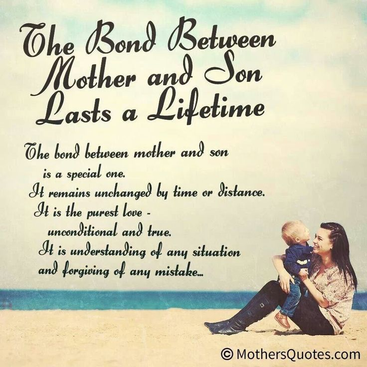 Mother Son Bible Quotes. QuotesGram