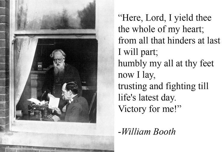 william booth and the salvation army essay Additional books and writings on subjects of importance by writers other  by william booth [rare find] essay  of william booth and the salvation army by.