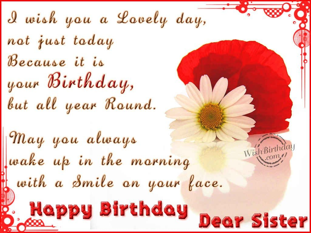 Happy Birthday To A Special Sister Quotes: Christian Happy Birthday Sister Quotes. QuotesGram