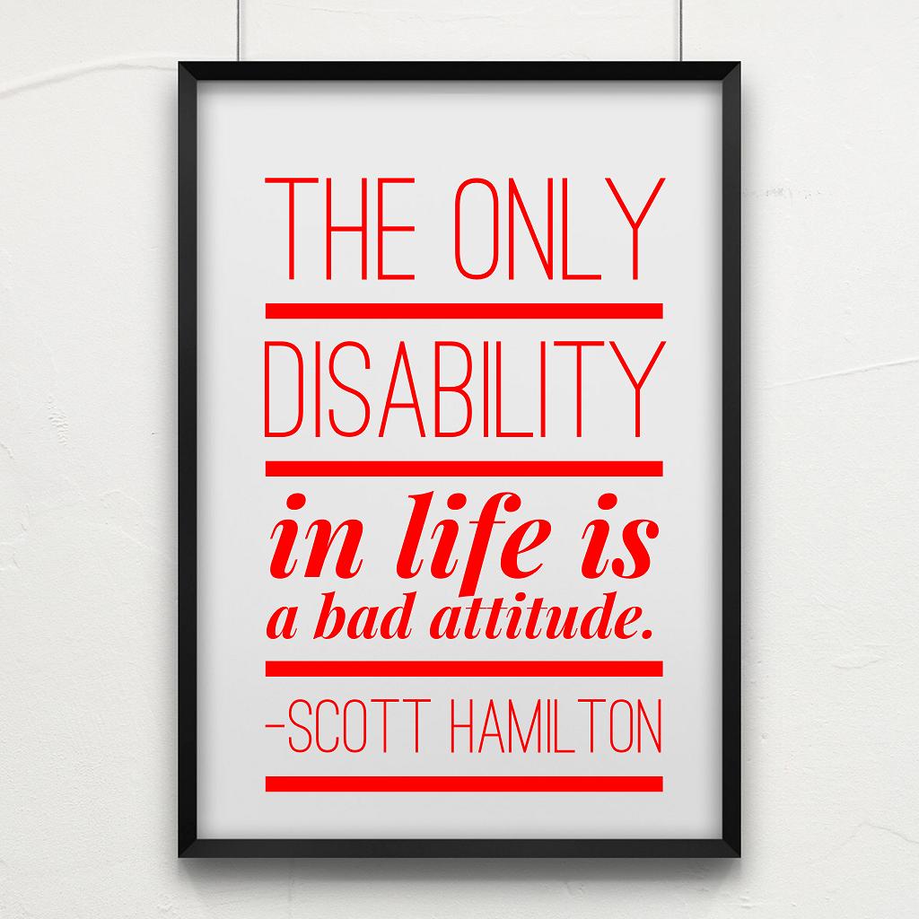 Disability Quotes Inspirational Quotesgram