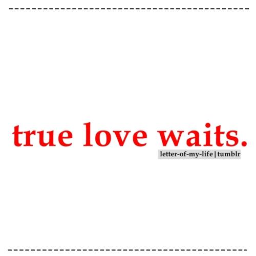 Marriage Quotes True Love Waits. QuotesGram