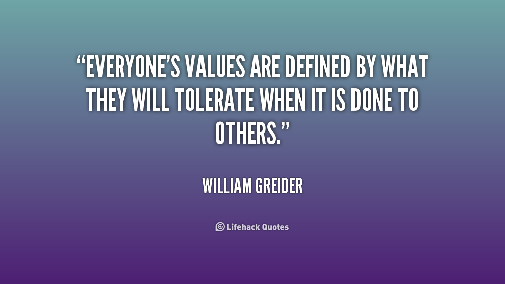 Quotes About Core Values Quotesgram