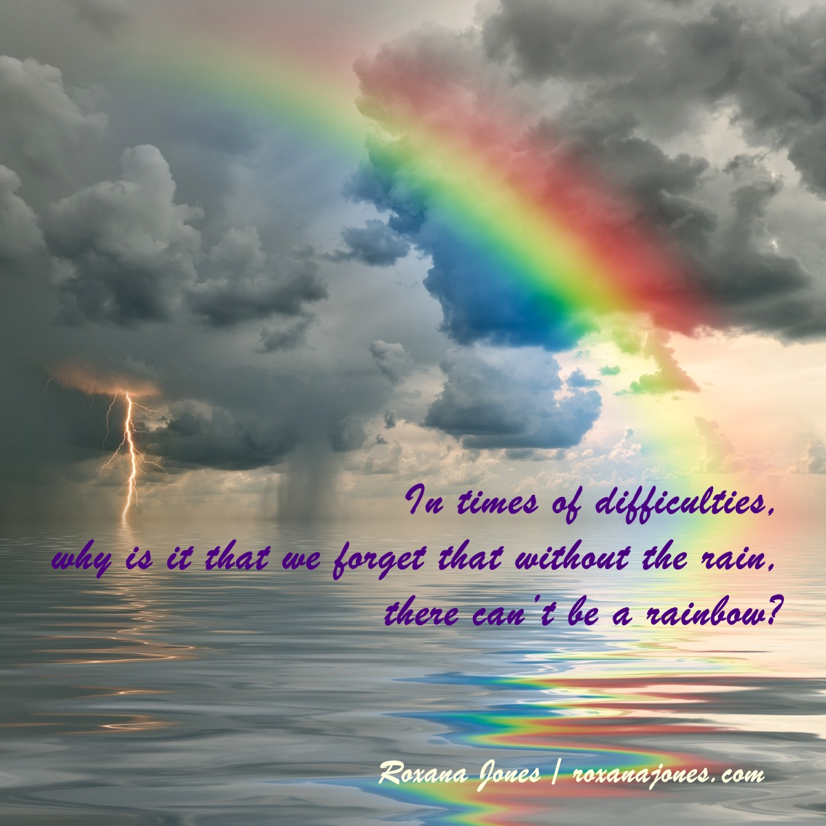 Positive Quotes About Rainbows. QuotesGram