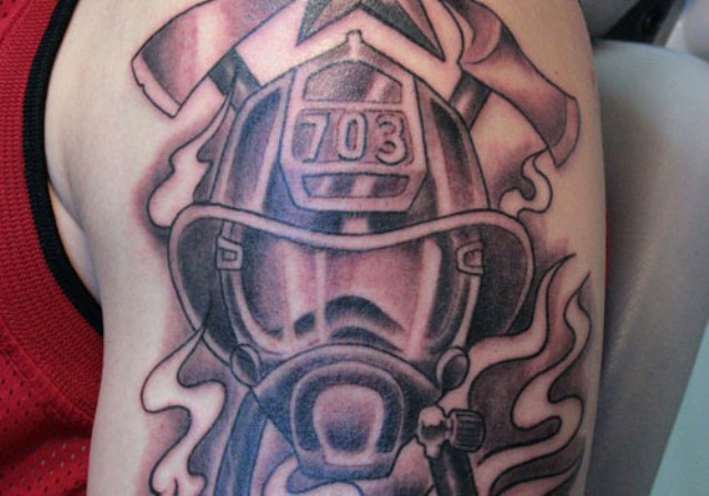 firefighter tattoo quotes quotesgram. Black Bedroom Furniture Sets. Home Design Ideas