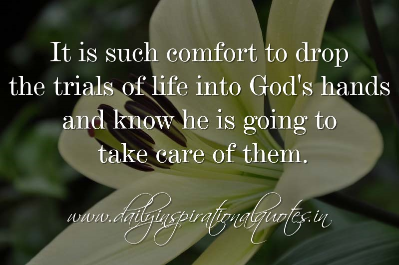 Quotes About Trial In Life: March Christian Quotes. QuotesGram