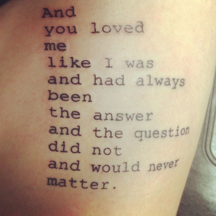 Tattoo Woman Poem: Tattoo Quotes And Poems. QuotesGram