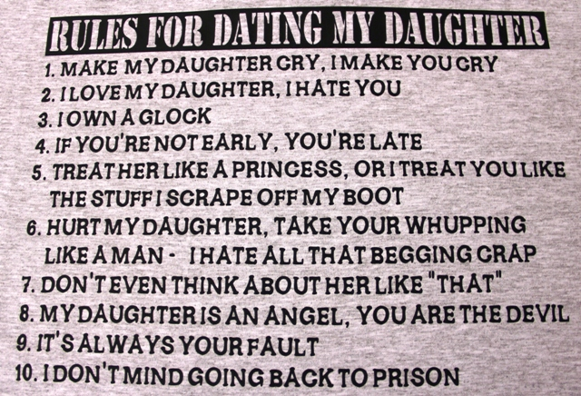 rules for dating my daughter pics forum