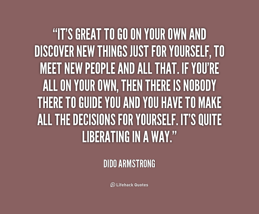 Dido Armstrong Quotes Quotesgram