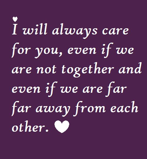 I Care About You Quotes: I Will Always Love You No Matter What Quotes. QuotesGram